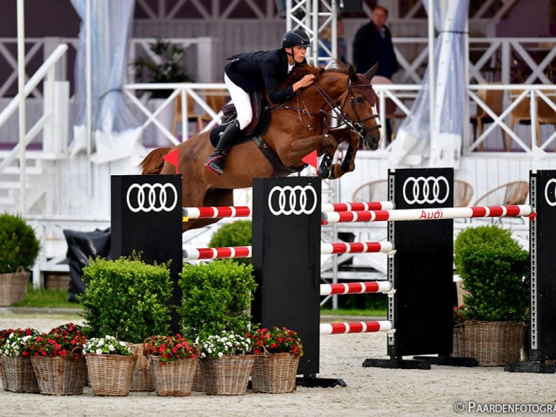 Cacacha third in 1m55 Grand Prix CSI3* Lier