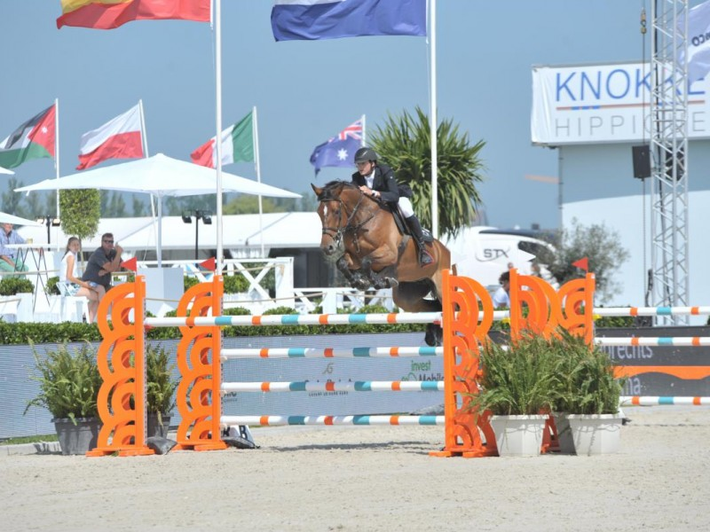 Lady Optima clear in Final CSIYH in Knokke