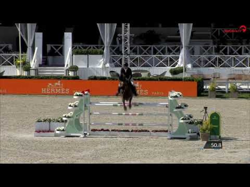 Exquise du Pachis clear in 1m45 LR CSI3* Knokke