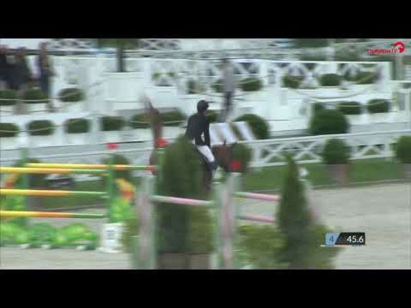 Cacacha first Grand Prix 1m55 CSI3*