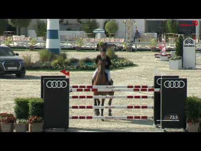 Holiday Uno fourth in 1m45 CSI3* Knokke 2019