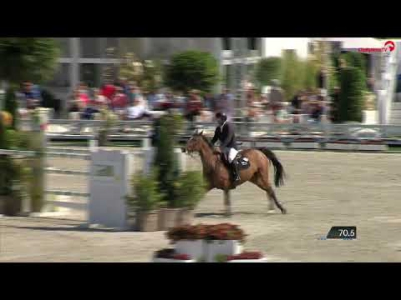 Karlin van 't Vennehof clear in Grand Prix CSI2* Knokke 2019