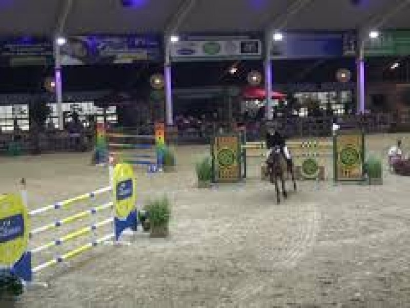 Lady Optima again second in Final 1m40 CSIYH Lier