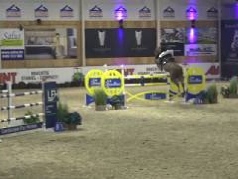 Cacacha 5th in 1m45 LR CSI2* Lier