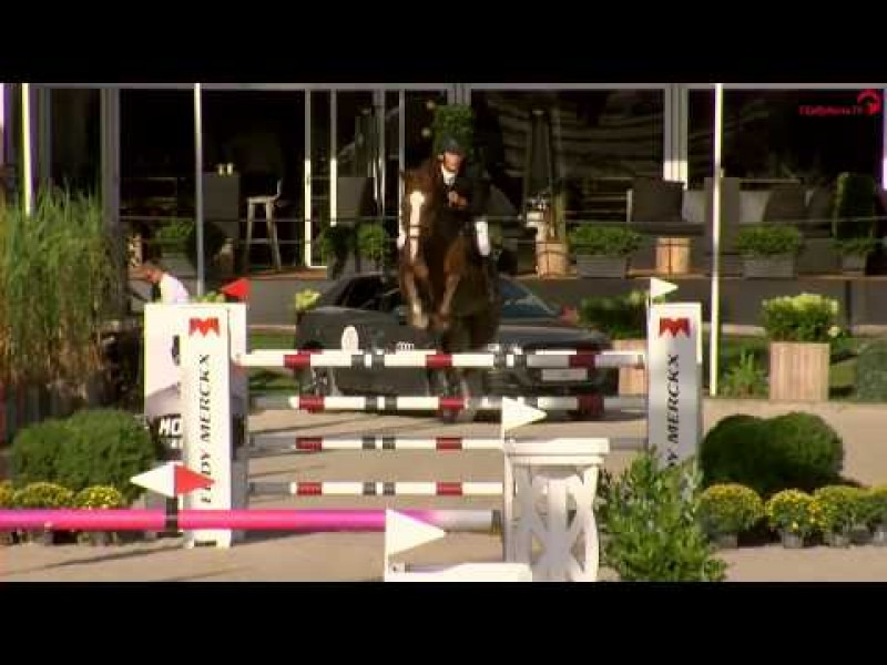 Cacacha 6th in 1m45 LR CSI3* Stephex Masters Brussel