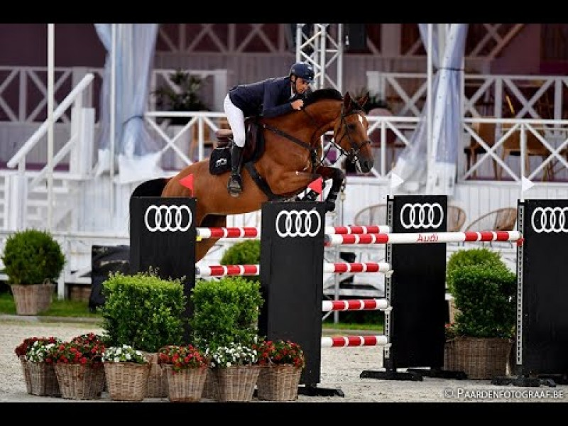 Exquise du Pachis 10th in GP CSI3* Stephex Masters Brussel